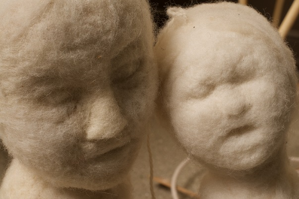 Felice Amato Felted Heads