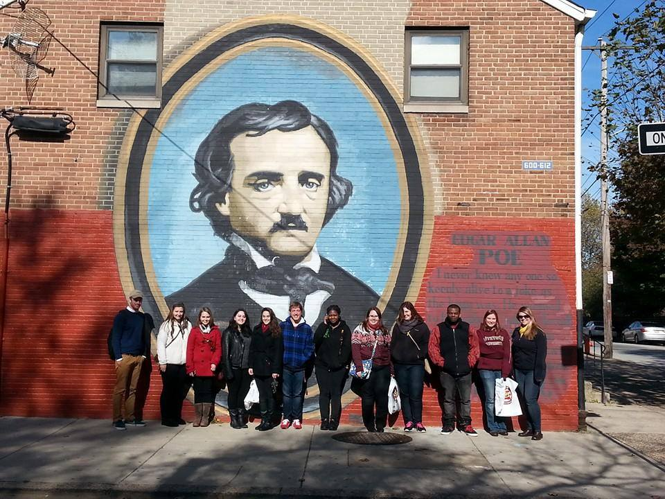 KU English Club at Poe Memorial