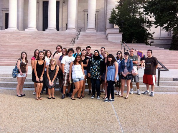 KU English Club trip to Washington, D.C.