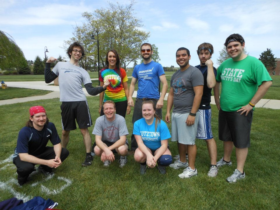KU English Club Ultimate Frisbee Team