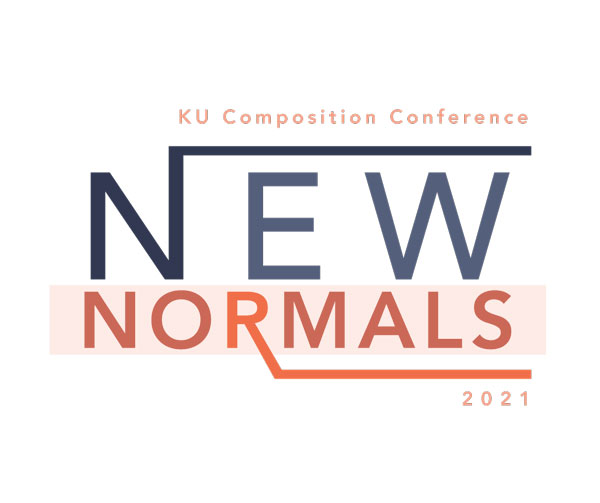 "Logo with text reading ""KU Composition Conference New Normals 2021"""
