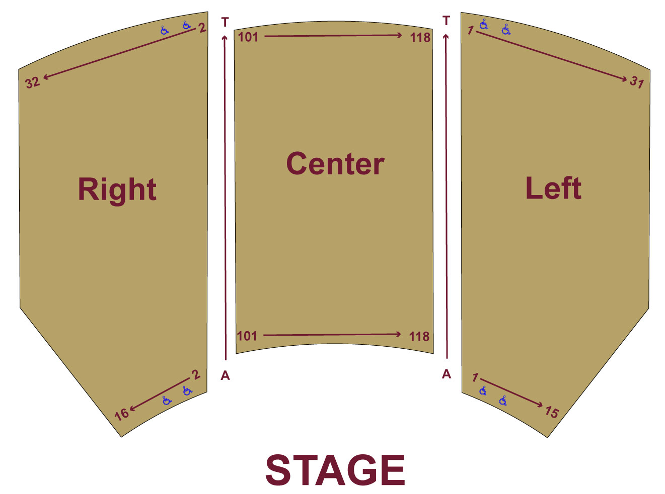 schaeffe seating chart