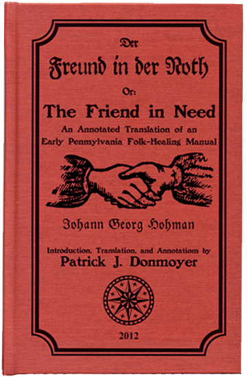 Book CoveR: Red Background with black etching of clasped hands. The title is above the hands.