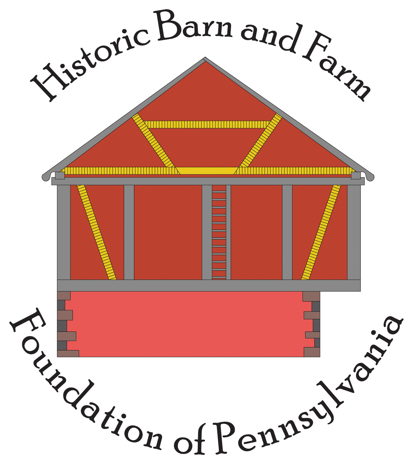 The Historic Barn and Farm Foundation logo, which features a barn vector