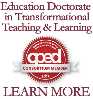 Education Doctorate in Transformational Teaching & Learning - CPED Logo - Learn More