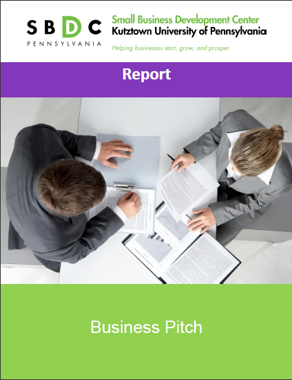 Business Pitch Guide