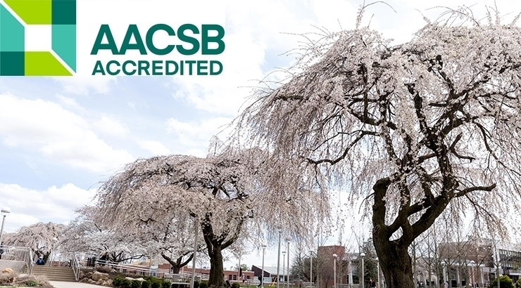 COLLEGE OF BUSINESS RENEWS AACSB ACCREDITATION