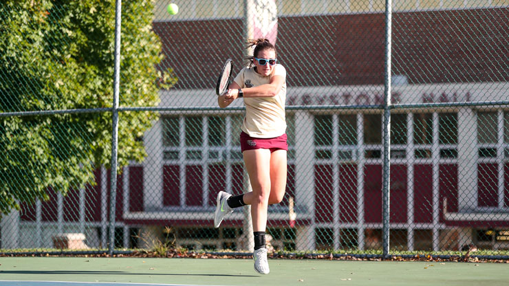 ALICIA PURSELL FINDS A LATE LOVE IN TENNIS