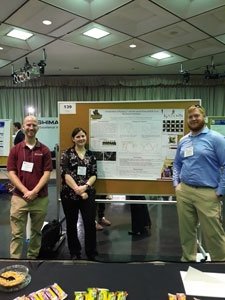 KUTZTOWN UNIVERSITY STUDENTS PRESENT RESEARCH POSTER