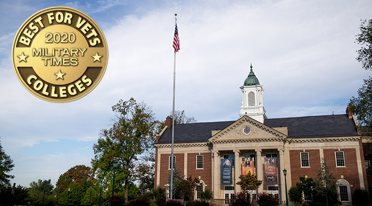 Kutztown University Named Best for Vets for Sixth Straight Year
