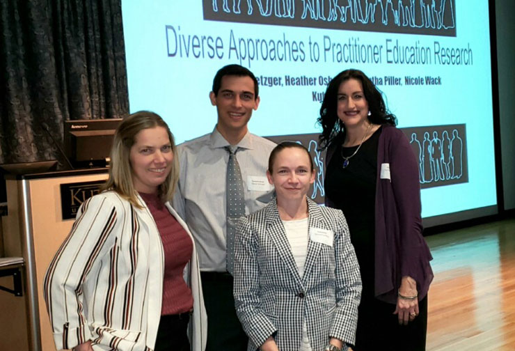 EDD Students Present at Human Diversity Conference