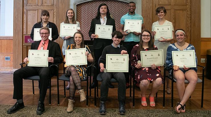KU Presents 2019 Chambliss Student Academic Achievement
