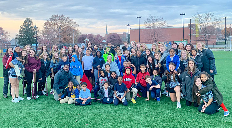 Field Hockey Community Service in Lancaster