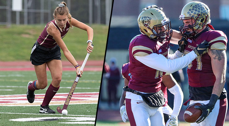 Kutztown University Field Hockey and Football in NCAA DII National Playoffs