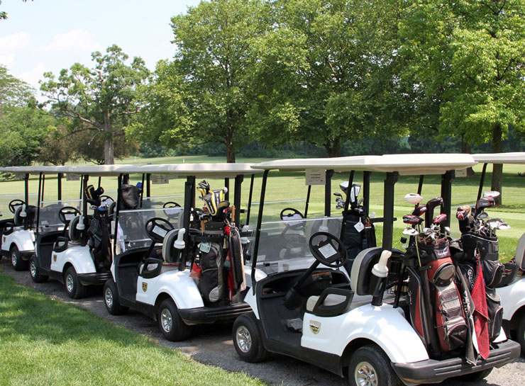 Women's basketball scholarship golf outing