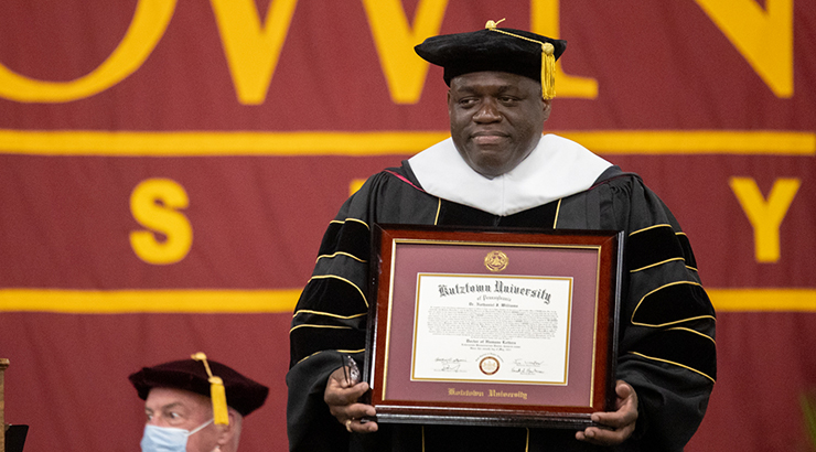 Honorary Doctorate Awarded to Dr. Nathaniel J. Williams