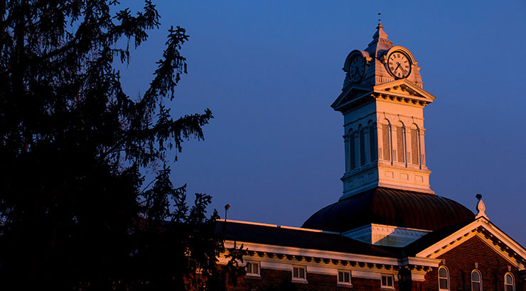 Kutztown University clock tower