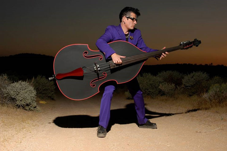 Stray Cat's Lee Rocker, Oct. 3, 7:30 p.m.