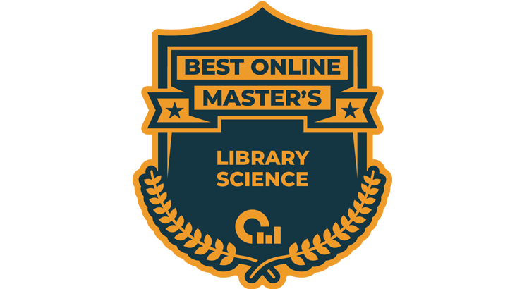 Best Online Master's Library Science badge