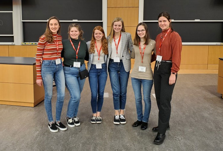 Kutztown University Physics Majors at APS Women in Physics Conference