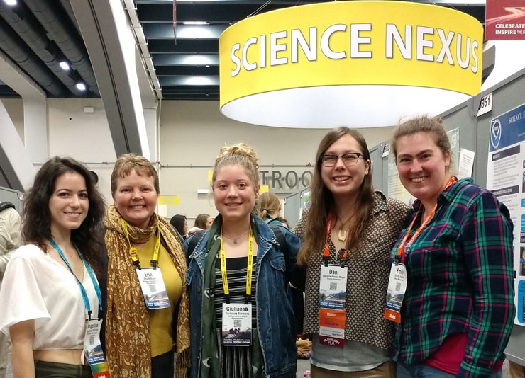 Physical Science Presentations at the American Geophysical Union