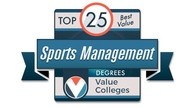 Top 25 Best Value Sports Management Degrees Value Colleges logo