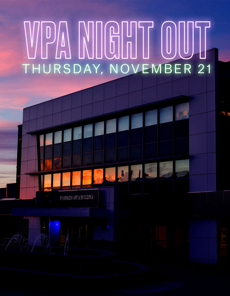 VPA Night Out Thursday, November 21