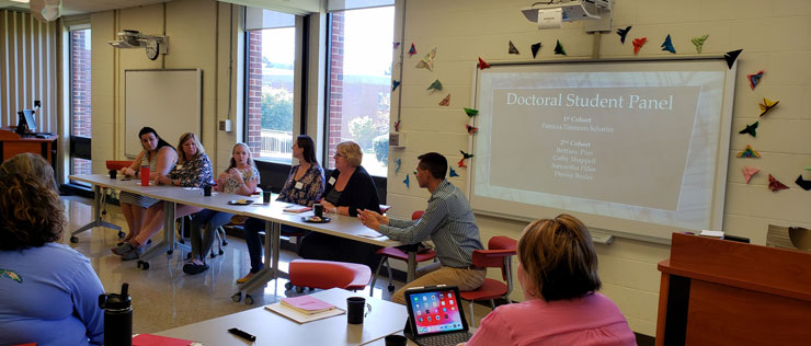 The College of Education's Doctorate in Transformational Teaching and Learning Program Held a Fall Orientation