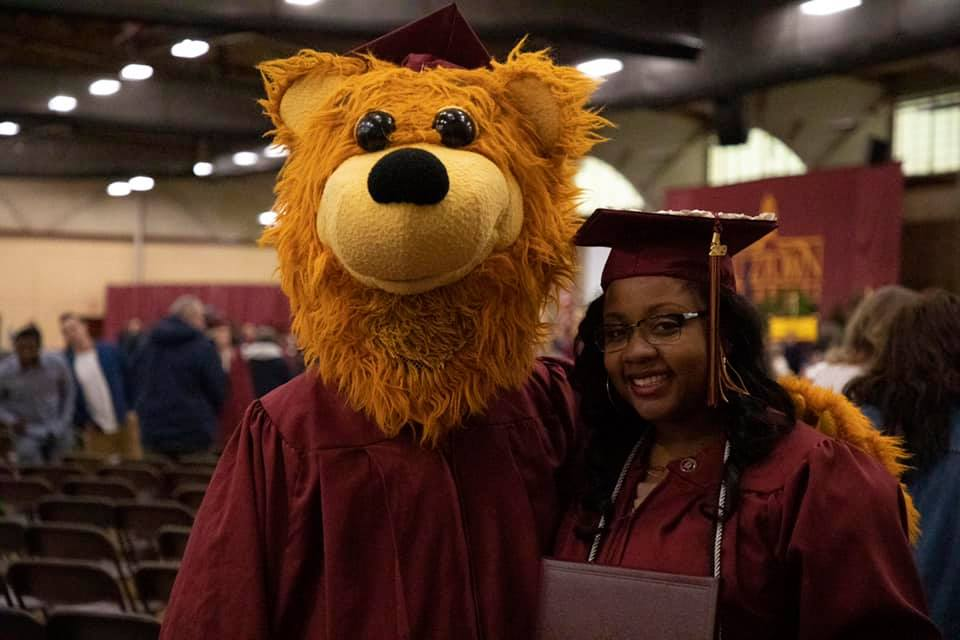 Avalanche and a December 2019 graduate