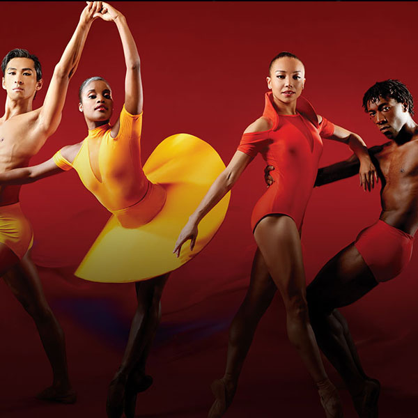 Dancers from the Dance Theatre of Harlem
