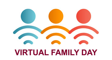 "Graphic ""Virtual Family Day, Saturday September 26th"""