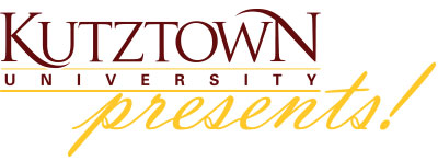 Kutztown University Presents! logo
