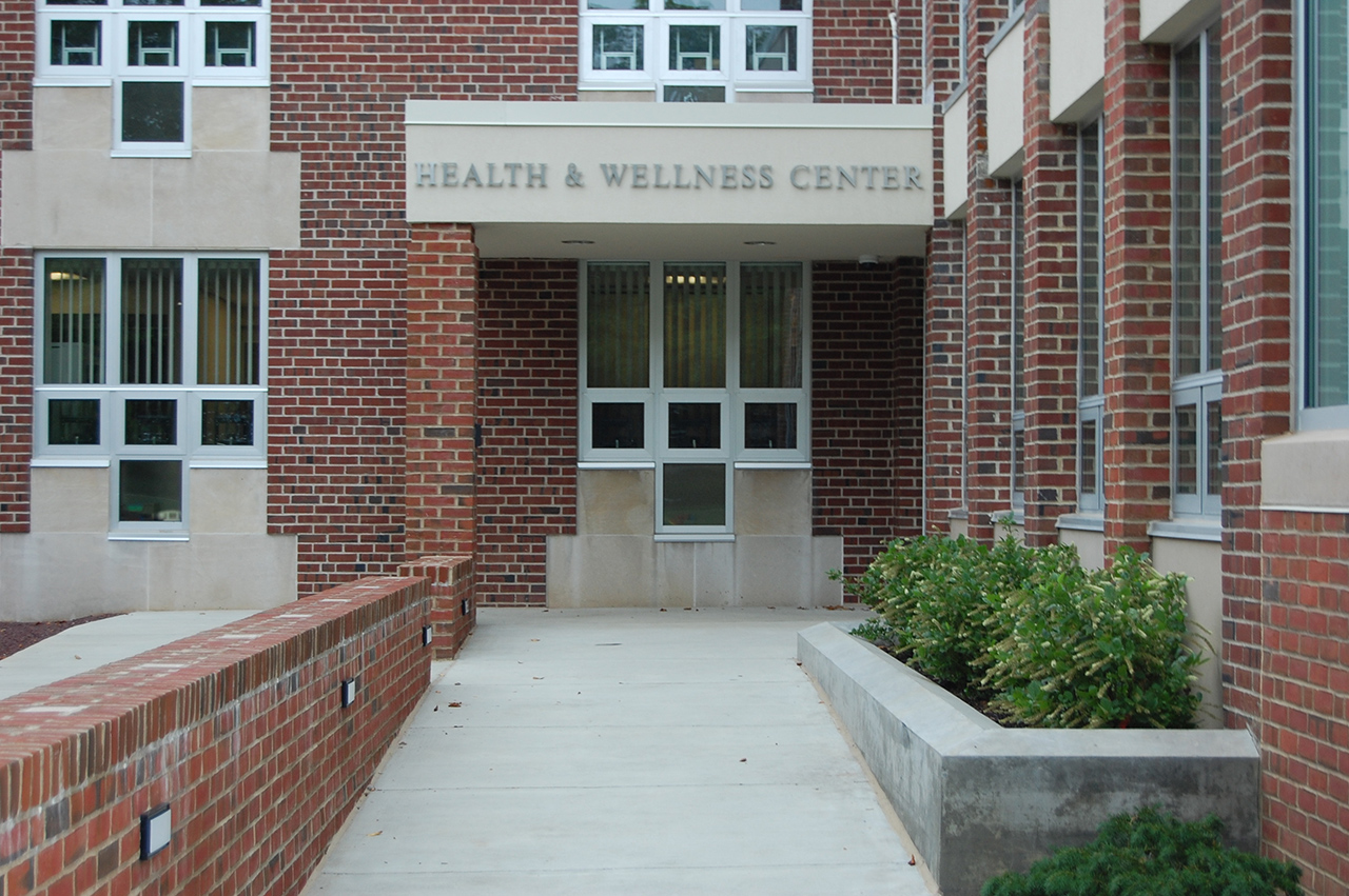 outside view of wellness center