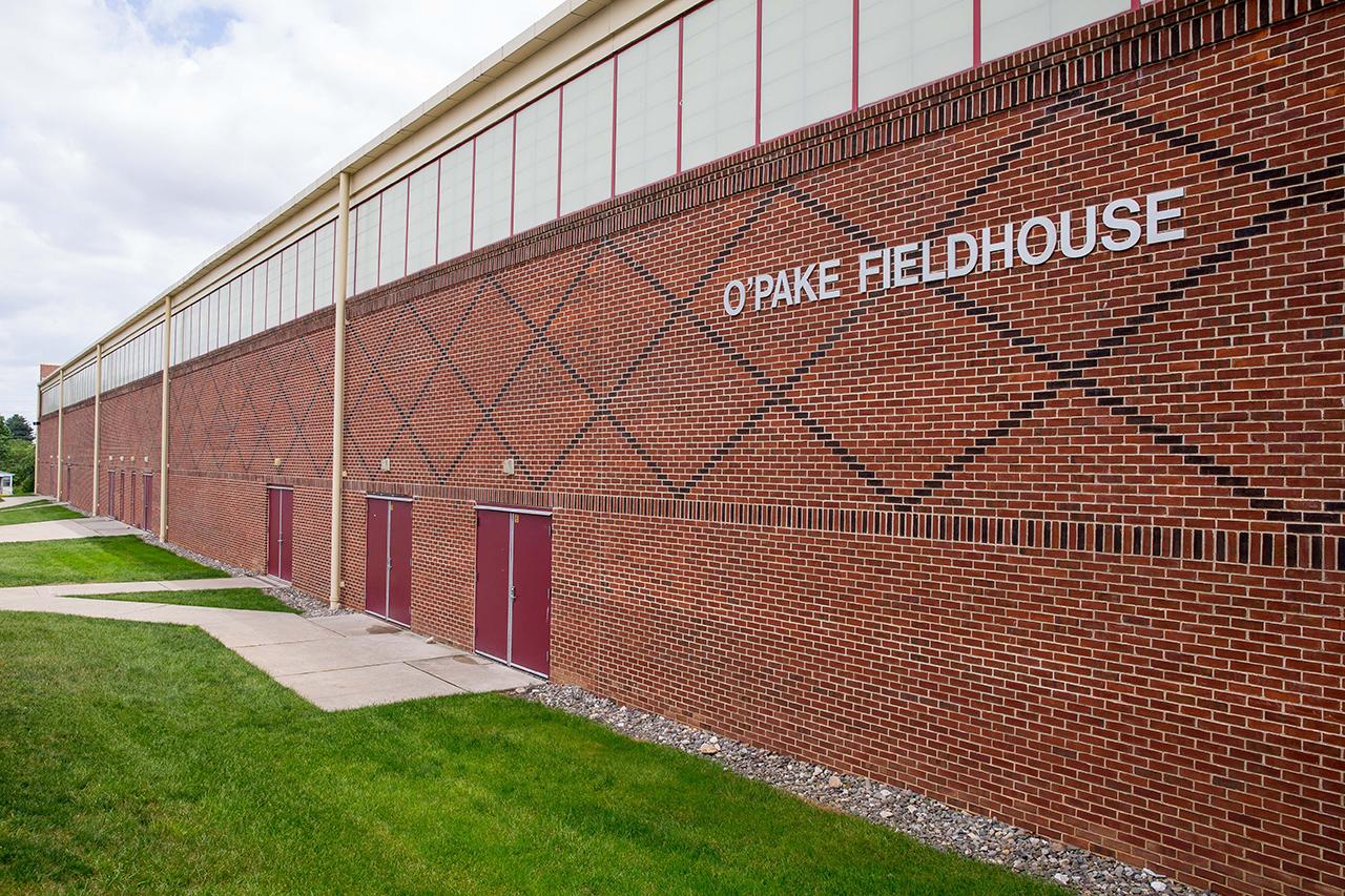 O'Pake Fieldhouse exteral view