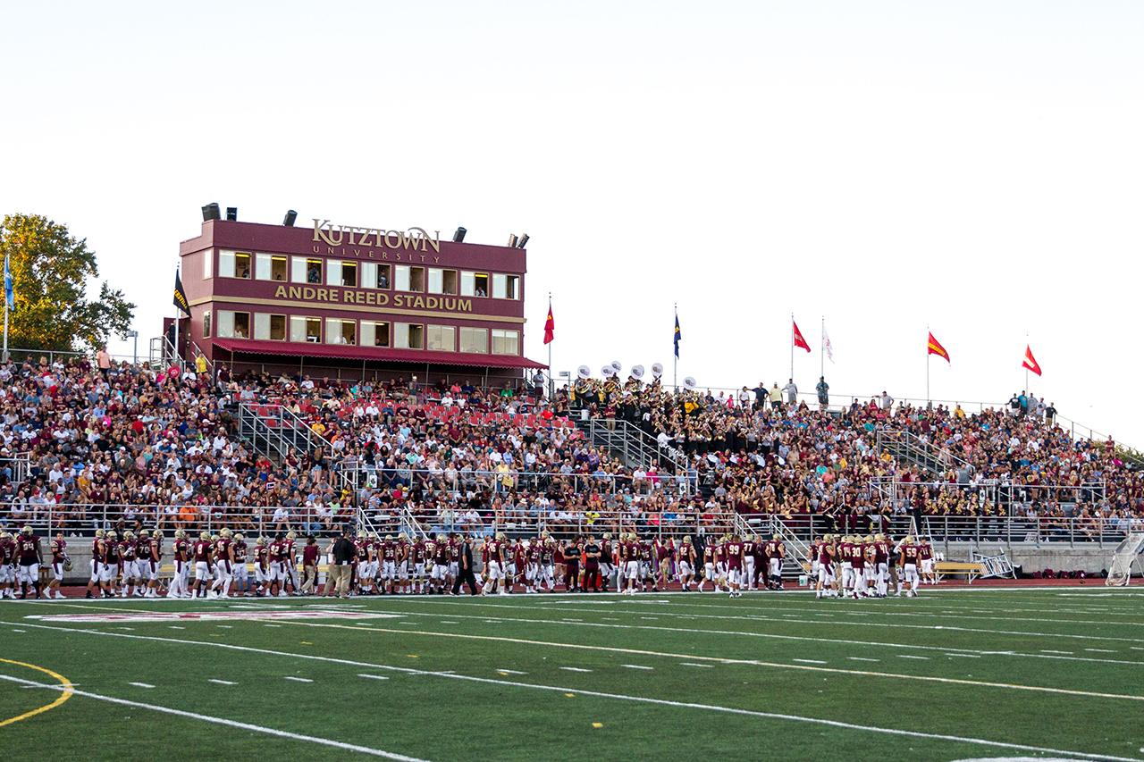 Kutztown University Of Pennsylvania >> University Field At Andre Reed Stadium Kutztown University