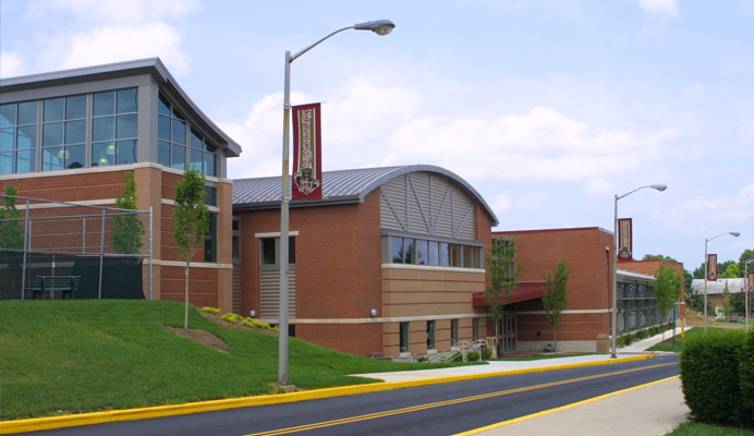outside view of recreation center